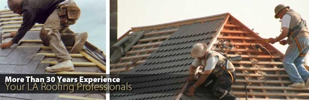 More Then 30 Years Experience - Your Los Angeles Roofing Professionals