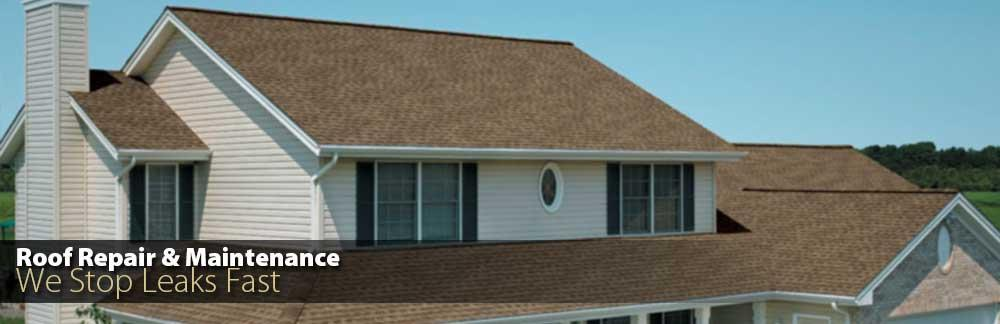 Roof Repair and Maintenance - We Stop Leaks Fast!